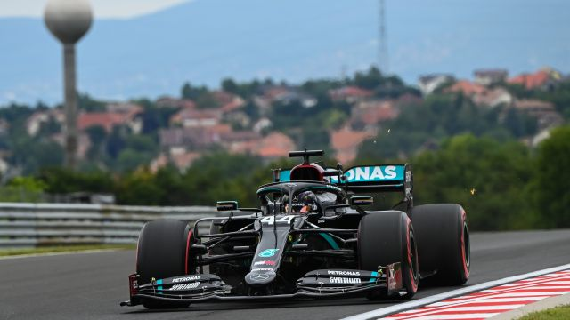 Lewis Hamilton GP Hungría 2020 Libres
