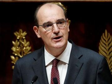 El primer ministro francés, Jean Castex