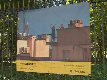 La fotografía de la compañera Andrea Barranco, en el Parque del Retiro de Madrid