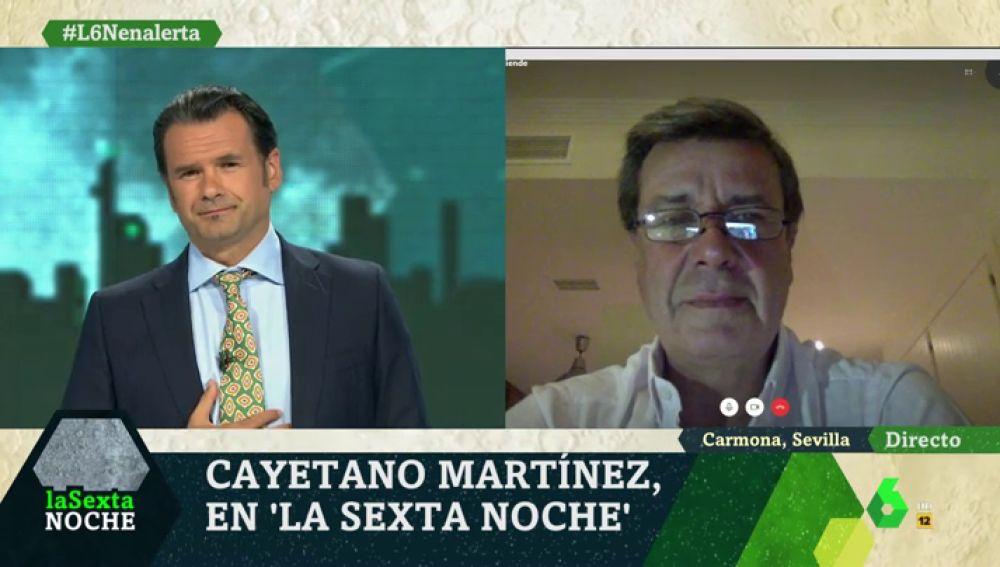 Cayetano Martínez de Irujo en laSexta Noche