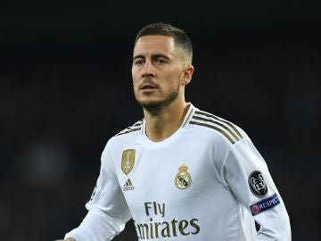 Eden Hazard, con el Real Madrid