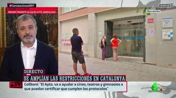 El primer teniente de alcalde del Ayuntamiento de Barcelona,  Jaume Collboni.