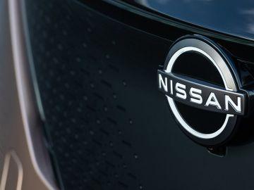 Nuevo logotipo en el Nissan Ariya