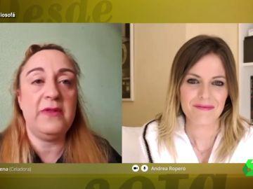 Andrea Ropero entrevista a Elena, celadora