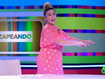 El momento en el que Valeria Ros sorprende en pleno directo haciendo twerking a lo Shakira