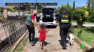 """Habla el guardia civil que halló a la niña de siete años abandonada por la pareja de su madre en La Rioja: """"Te llega, te choca"""""""