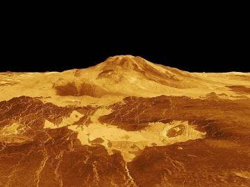 Descubren que Venus tiene decenas de volcanes activos
