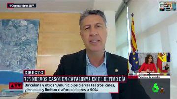El alcalde de Badalona, Xavier García Albiol