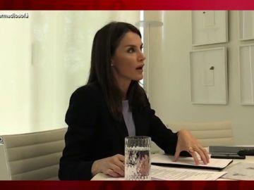 Vídeo manipulado - La secreta conversación entre la reina Letizia y el rey Juan Carlos que termina a gritos
