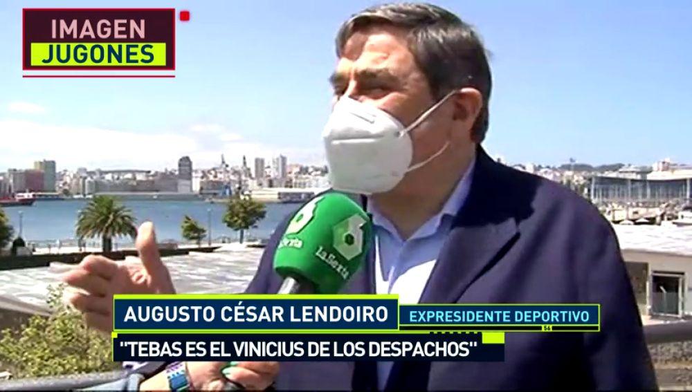 """Lendoiro: """"Tebas es el Vinicius de los despachos"""""""