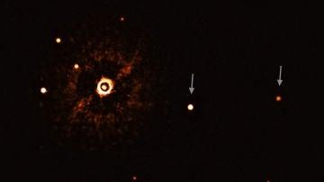 Primera imagen de varios planetas alrededor de una estrella similar al Sol