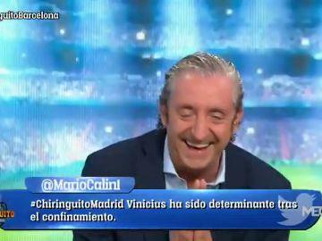 El ataque de risa de Josep Pedrerol