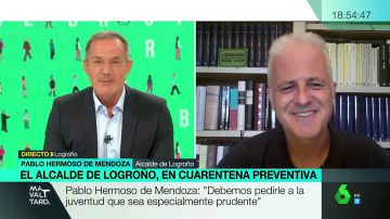 """El alcalde de Logroño, aislado tras estar en contacto con un positivo en Covid: """"Tenemos que ser extremadamente cautos"""""""