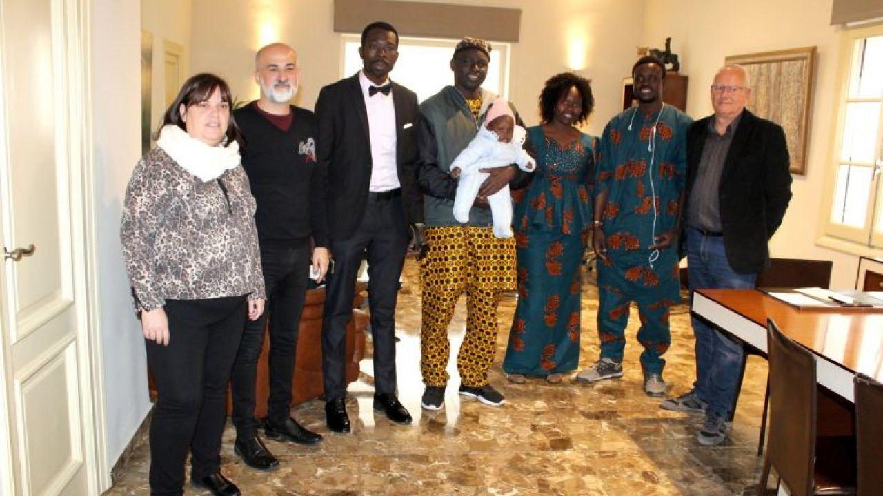 Gorgui Lamine, el héroe que salvó a un hombre con movilidad reducida de un incendio en Dénia, consigue la nacionalidad