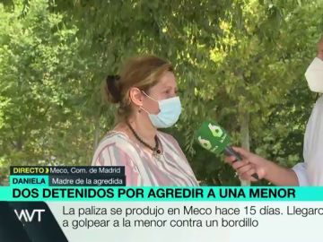 """La madre de la menor brutalmente apalizada en Meco: """"Están esperando a que salga del hospital, da miedo"""""""