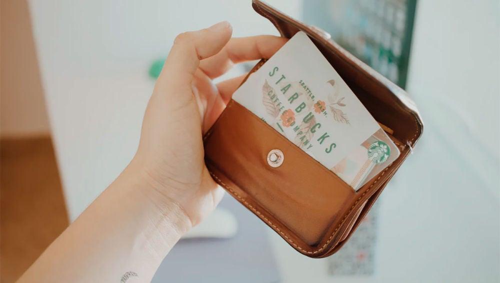 Tarjeta de Starbucks