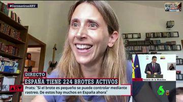 """Su hija irrumpe en una entrevista en Al Rojo Vivo y María Llapart lo resuelve así: """"Atienda a su bebé primero"""""""