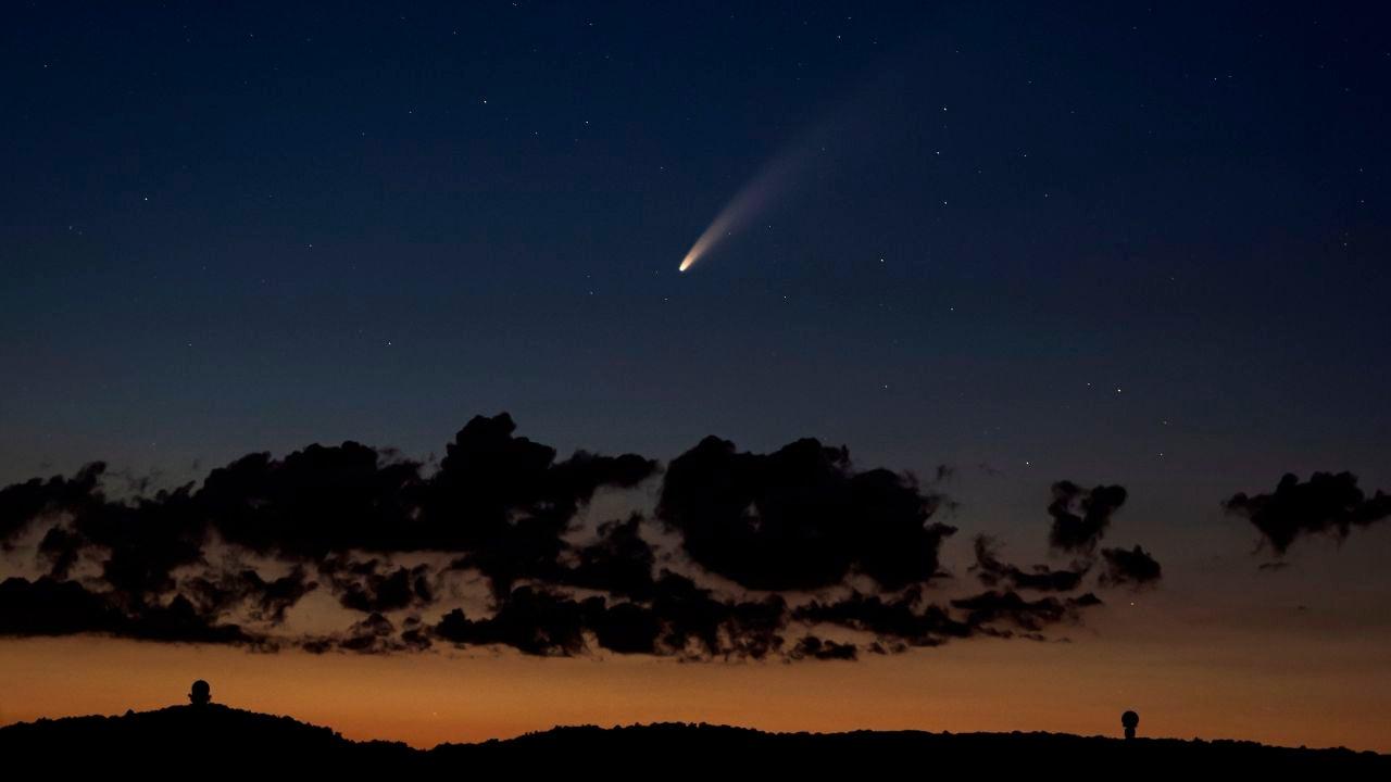 Así puedes rastrear el cometa NEOWISE desde tu móvil