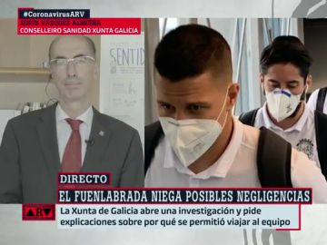 Jesús Vázquez Almuilla, conselleiro de Sanidad de la Xunta