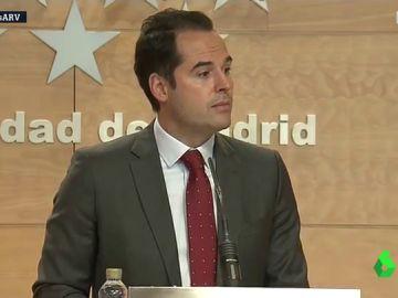 El vicepresidente madrileño, Ignacio Aguado