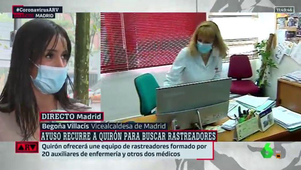 La vicelacaldesa de Madrid, Begoña Villacís.
