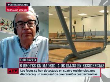 El portavoz de AMASAP, Fernando García
