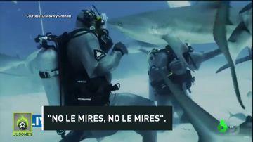 El susto de Mike Tyson con un tiburón