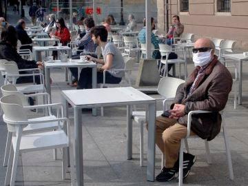 Terrazas durante la crisis del coronavirus