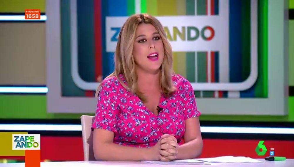 Valeria Ros en Zapeando