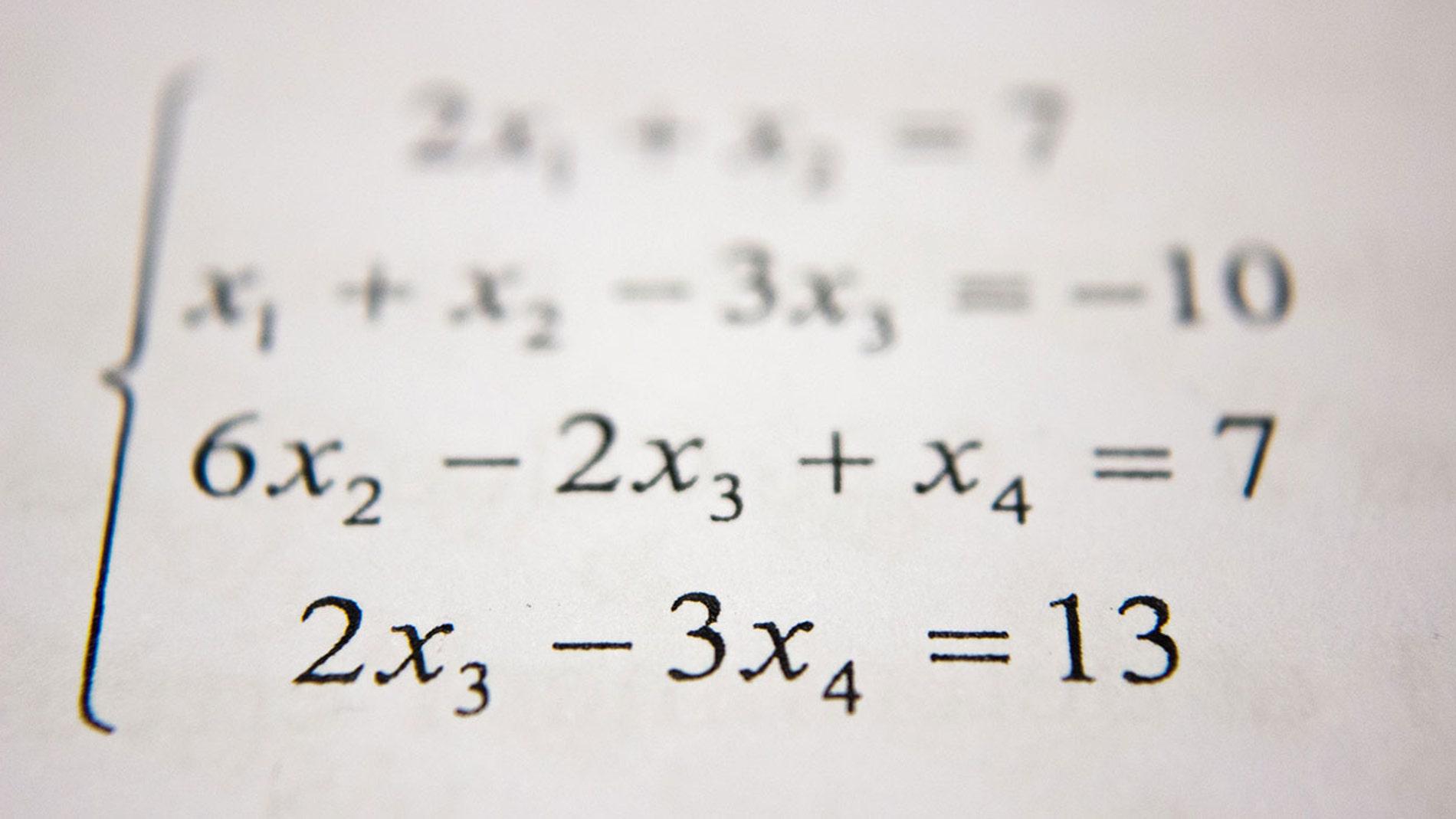 Operación matemática
