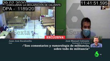 Exclusiva: la declaración del exabogado de Podemos ante el juez
