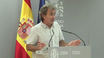 """Fernando Simón, sobre otro confinamiento en España: """"Son bulos que corren, no sé con qué intención"""""""