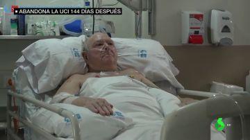 Pedro sale de la UCI después de 144 días ingresado por coronavirus