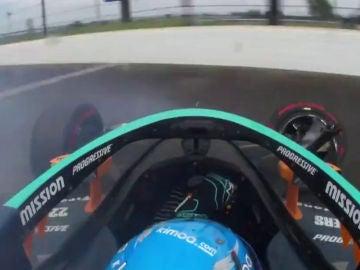 Accidente de Fernando Alonso en las 500 Millas de Indianápolis
