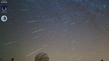 Las mejores imágenes de las perseidas desde el Observatorio de Canarias