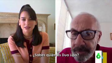 La cantante Dua Lipa se disfrazó y realizó un experimento con varias personas mayores