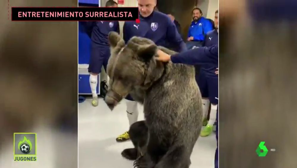 oso jugones