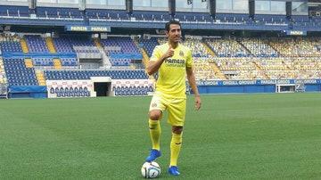 Dani Parejo, presentado como nuevo jugador del Villarreal.