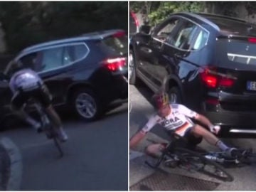 Schachmann, arrollado por un coche