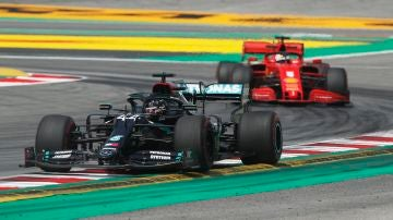 Lewis Hamilton GP España Quali