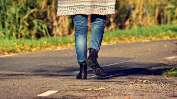 Caminar carretera