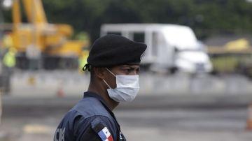Un policía de Panamá, en una foto de archivo