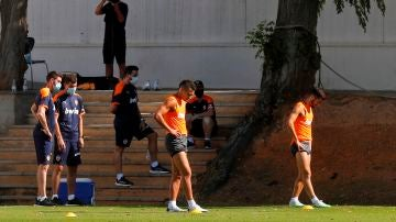 Entrenamiento del Valencia CF