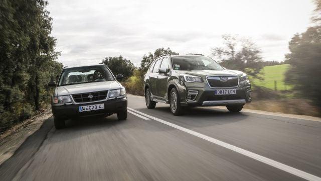 Subaru Forester 1ª Generación y nuevo Subaru Forester