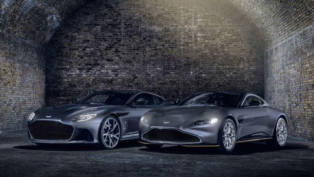 Aston Martin DBS Superleggera y Vantage 007 Edition