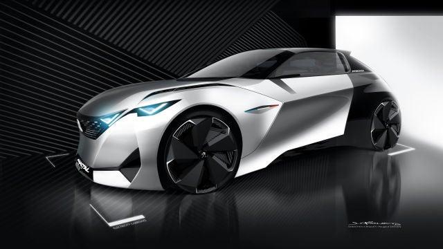Los 'concept-cars' de Peugeot marcan el futuro del diseño de la marca