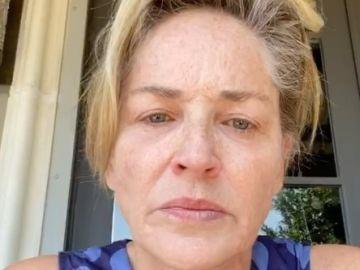 La actriz Sharon Stone critica la gestión de Trump en redes sociales