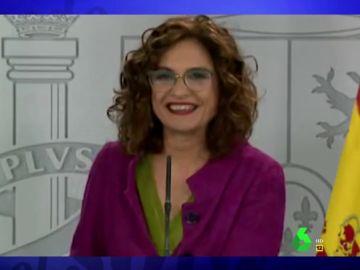 Vídeo manipulado - El mal trago de María Jesús Montero al confundir de forma reiterada el cargo de Pablo Iglesias