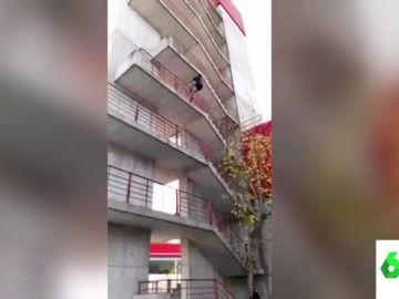 Los espectaculares vídeos de las Olimpiadas de bomberos: