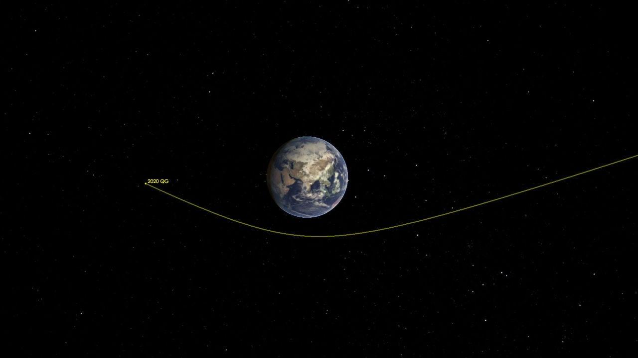 Así es el asteroide que casi 'roza' la Tierra este fin de semana